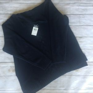 Chaps Navy cable knit turtleneck sweater sz 3X NWT